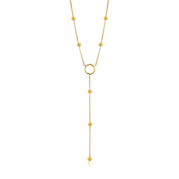 ANIA HAIE MODERN CIRCLE Y NECKLACE