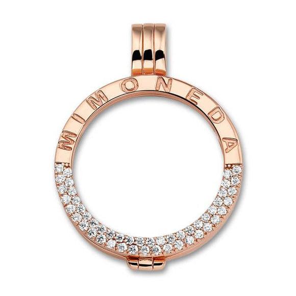 DELUXE PENDANT 925 SILVER ROSEGOLD PLATED