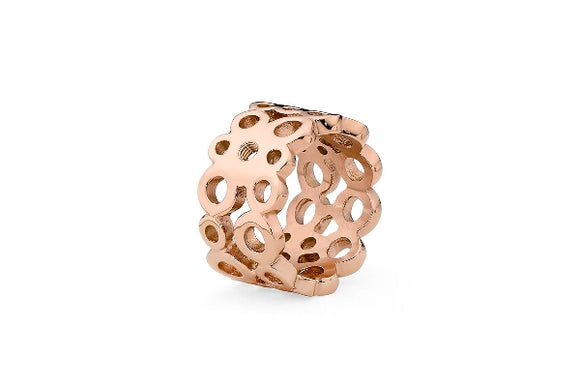 Qudo Interchangeable ring ancona /rose gold