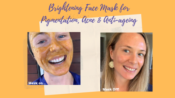 How to Make a Natural Skin Brightening Face Mask