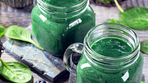 Coconut & Spirulina Green Smoothie