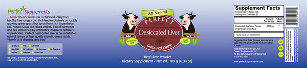 Perfect Supplements Dessicated Liver Powder