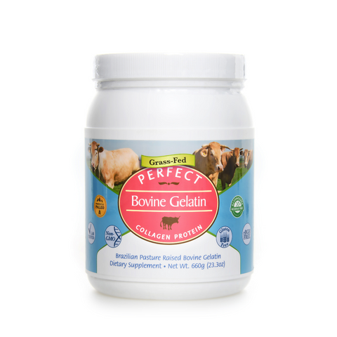 Perfect Bovine Gelatin Grass Fed Collagen Protein
