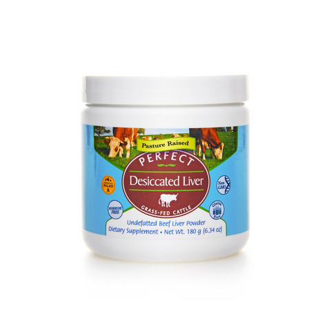 Perfect Grass-fed Desiccated Liver Powder 180g
