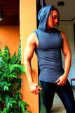 Hooded Sleeveless II