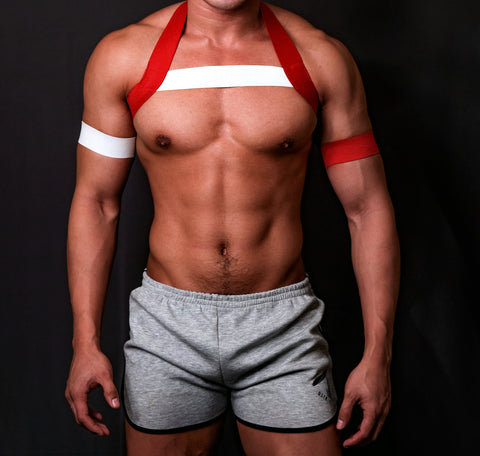 Timeless RED and White Circuit Harness
