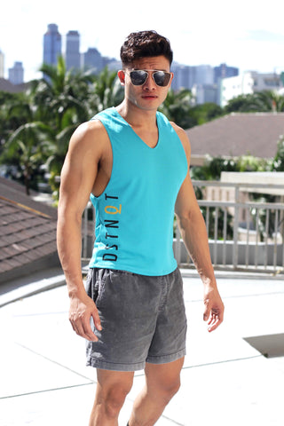 Turquoise Dri-Fit Low Cut Tank II