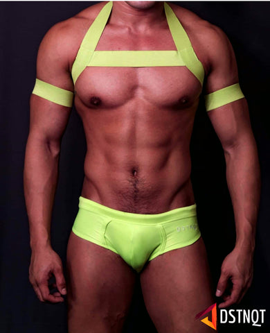Festive LIME GREEN Circuit Harness
