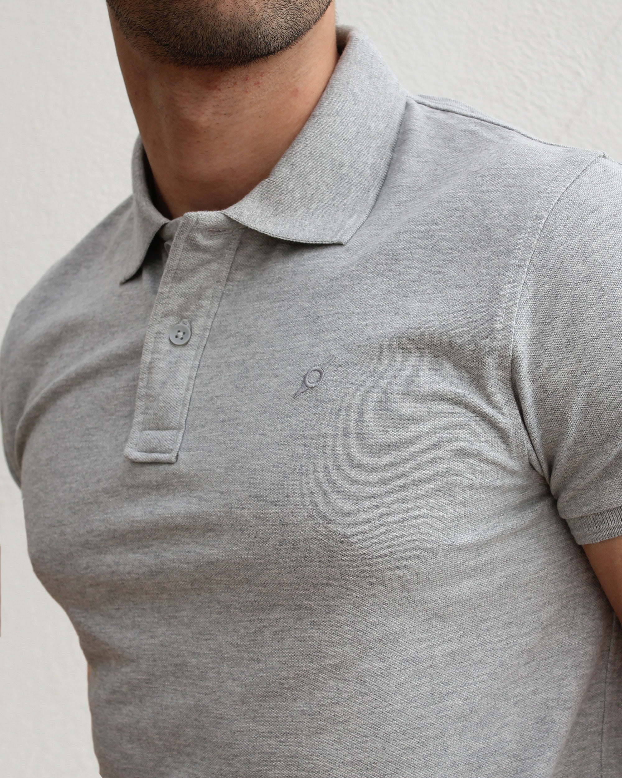 POLO HEATHER GRAY