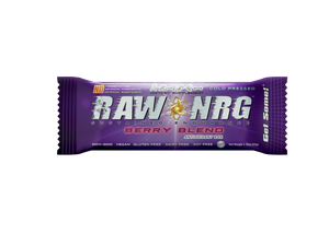 RAW NRG® Berry Blend - Nutrition Bar, 12 Count - RAW NRG®