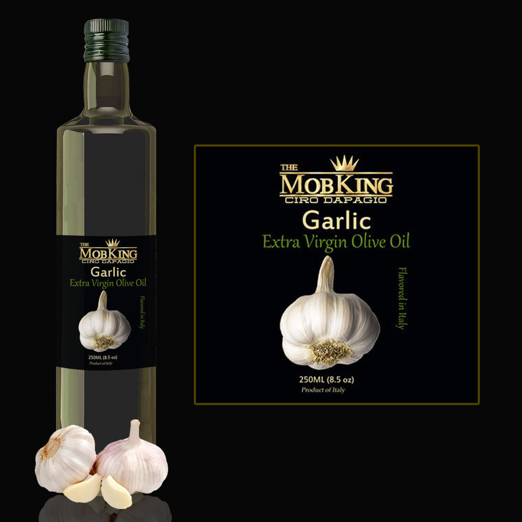 # MOB KING GARLIC INFUSED OLIVE OIL IMPORTED FROM ITALY