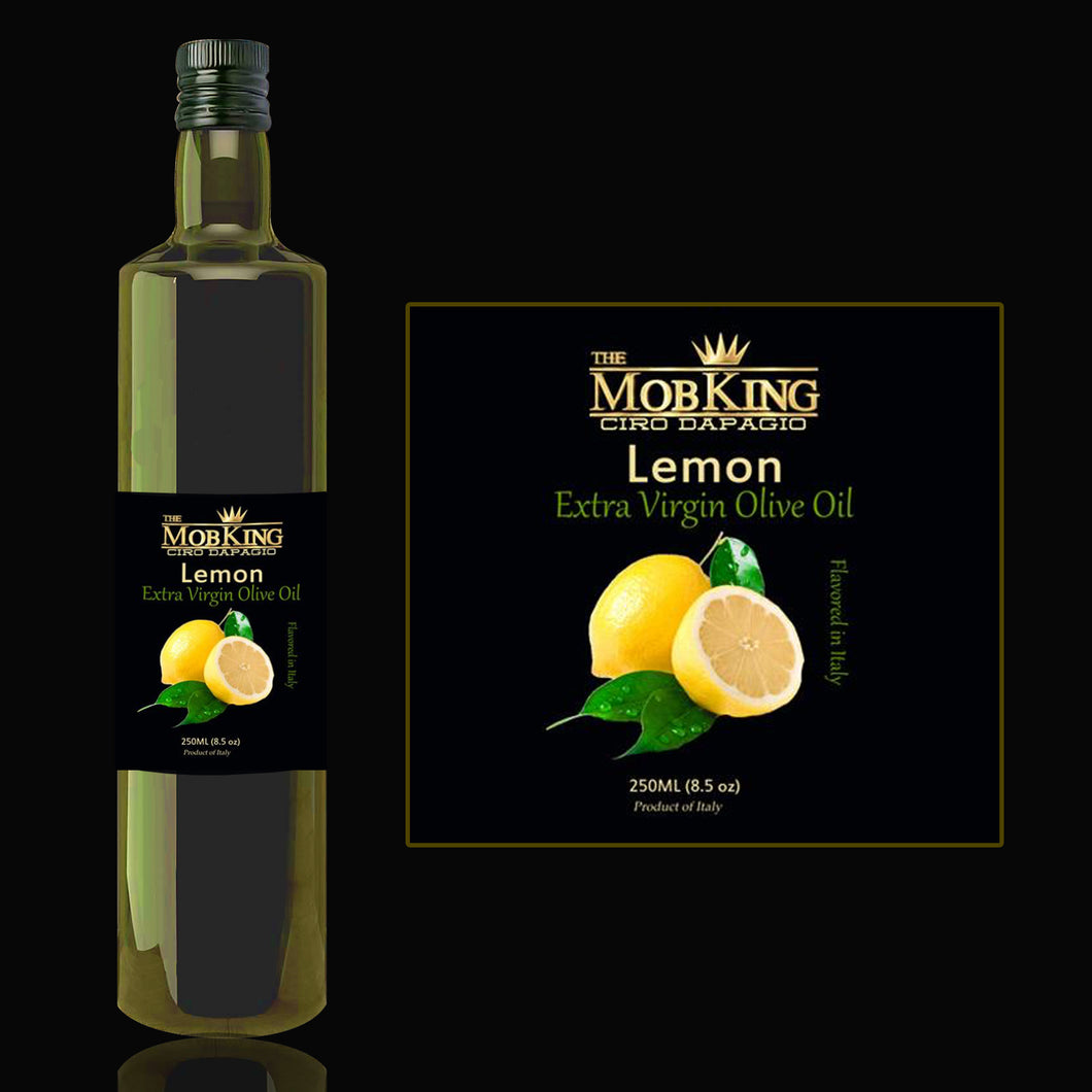 # MOB KING LEMON INFUSED OLIVE OIL IMPORTED FROM ITALY