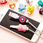 Cute Apple iPhone Cable Protector [Buy 1 & Get 1 FREE]