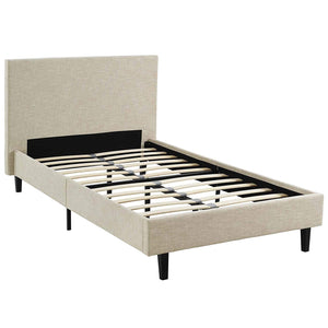 Madden Twin Size Platform Bed in 3 Colors - Mod Designs