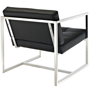 Porto Accent Chair In Black - Mod Designs