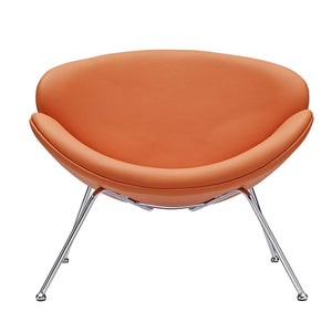 Venus Accent Chair In Orange - Mod Designs
