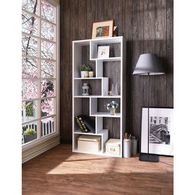Metrix Modern Bookshelf in Bianco - Mod Designs