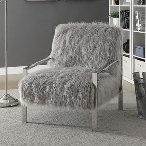 Alpa Accent Chair In Gray - Mod Designs