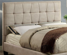 Artemis Platform Bed In Beige - Mod Designs