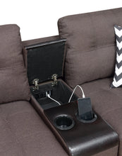 Klutch Sofa Set In Blue Grey With Usb Charger - Mod Designs