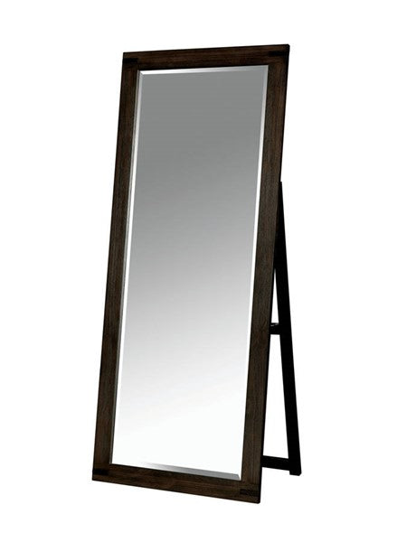 Espresso Floor Mirror - Mod Designs