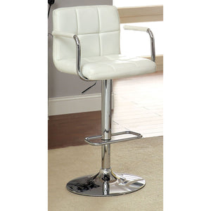 Eva Adjustable Barstool in White