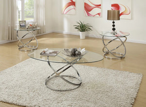 Solstice 3 Piece Coffee Table Set