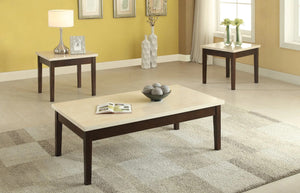 Danica 3 Piece Coffee Table Set
