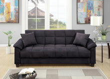 "Crimson 84"" Sofa Bed With Storage"