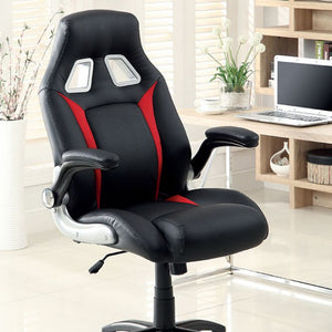 Prostyle High Back Office Chair in Black Eco Leather - Mod Designs