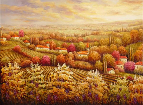 Countryside Canvas Art