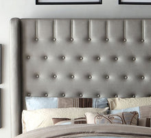Ariana Platform Bed In Silver