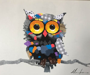 Whoot Canvas Art - Mod Designs