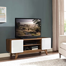 "Kingston 47"" TV Stand in Walnut White"