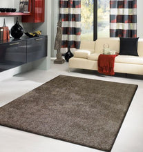 Ultra Lux Modern Rug in Metallic