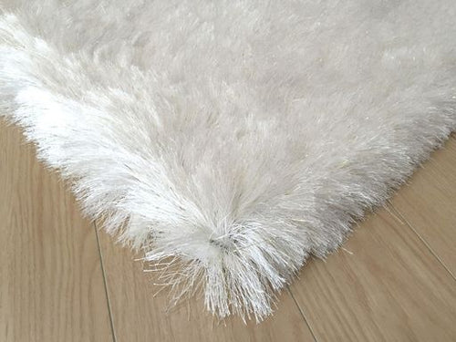 Ultra Lux Modern Rug in White