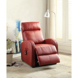Carti Power Recliner In Red - Mod Designs