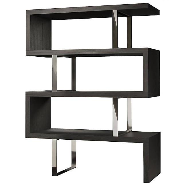 Milan Modern Bookshelf In Grey Matte - Mod Designs