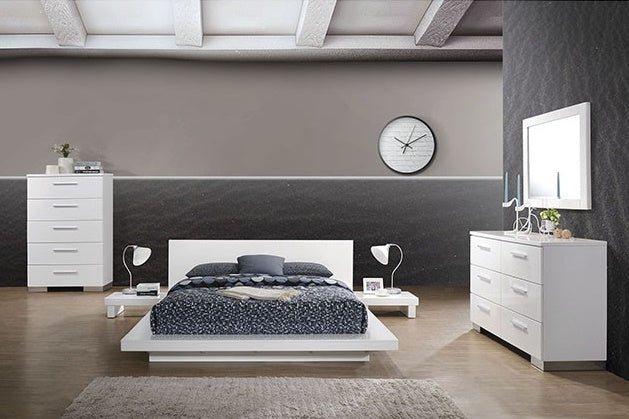 Utopia Bedroom Set in White - Mod Designs
