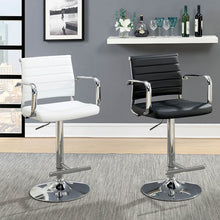 Nova Adjustable Barstool in White - Mod Designs