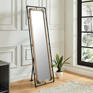 Walnut Metal Mirror - Mod Designs