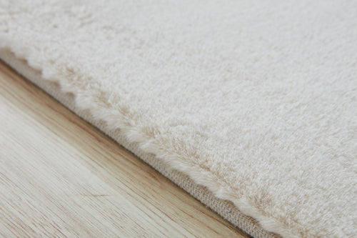 White Snow Area Rug