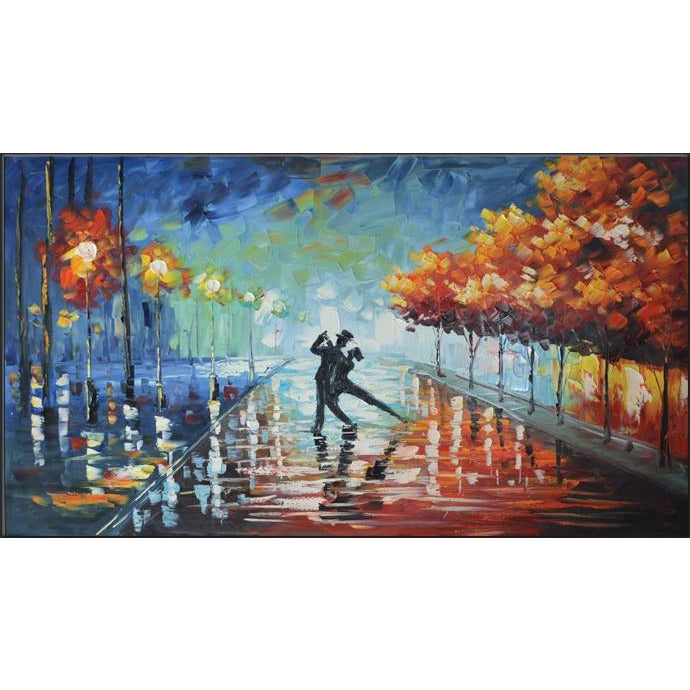 Danza Modern Wall Art On Canvas - Mod Designs