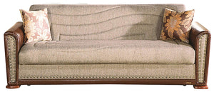 Jerald Sofa Bed in Brown - Mod Designs
