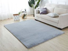 Light Soothing Blue Area Rug