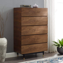 Cayden Walnut Wood Chest