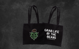 Beerded Bean Tote Bag