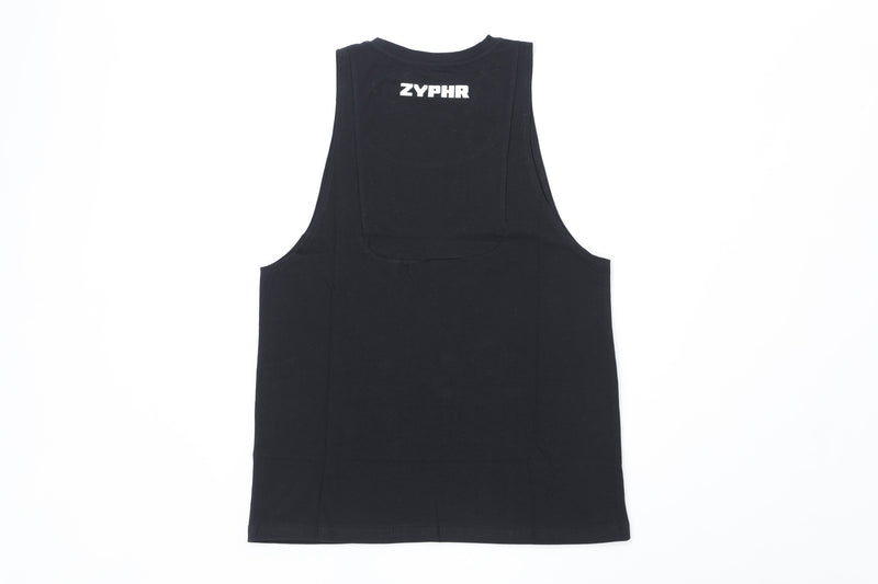 Men Function Tank - Obsidian Black