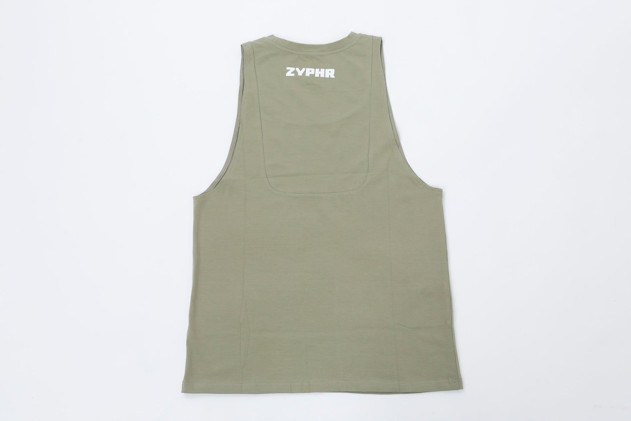 Men Function Tank - Olive Green