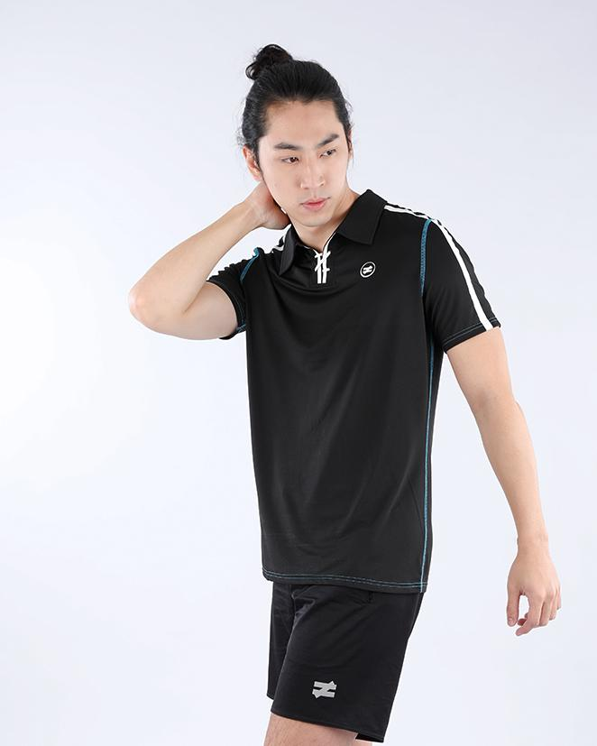Performance Polo in Obsidian Black